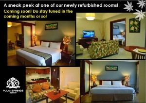 New Rooms for Pulai Springs Resort