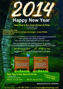 New Year's Eve and New Year's Day Promotions