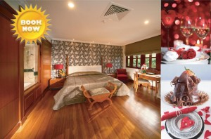 Romantic Valentine's Room Package at Pulai Springs Resort