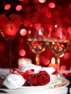 Romantic Valetine's Day Set Dinner specially created for this special occasion